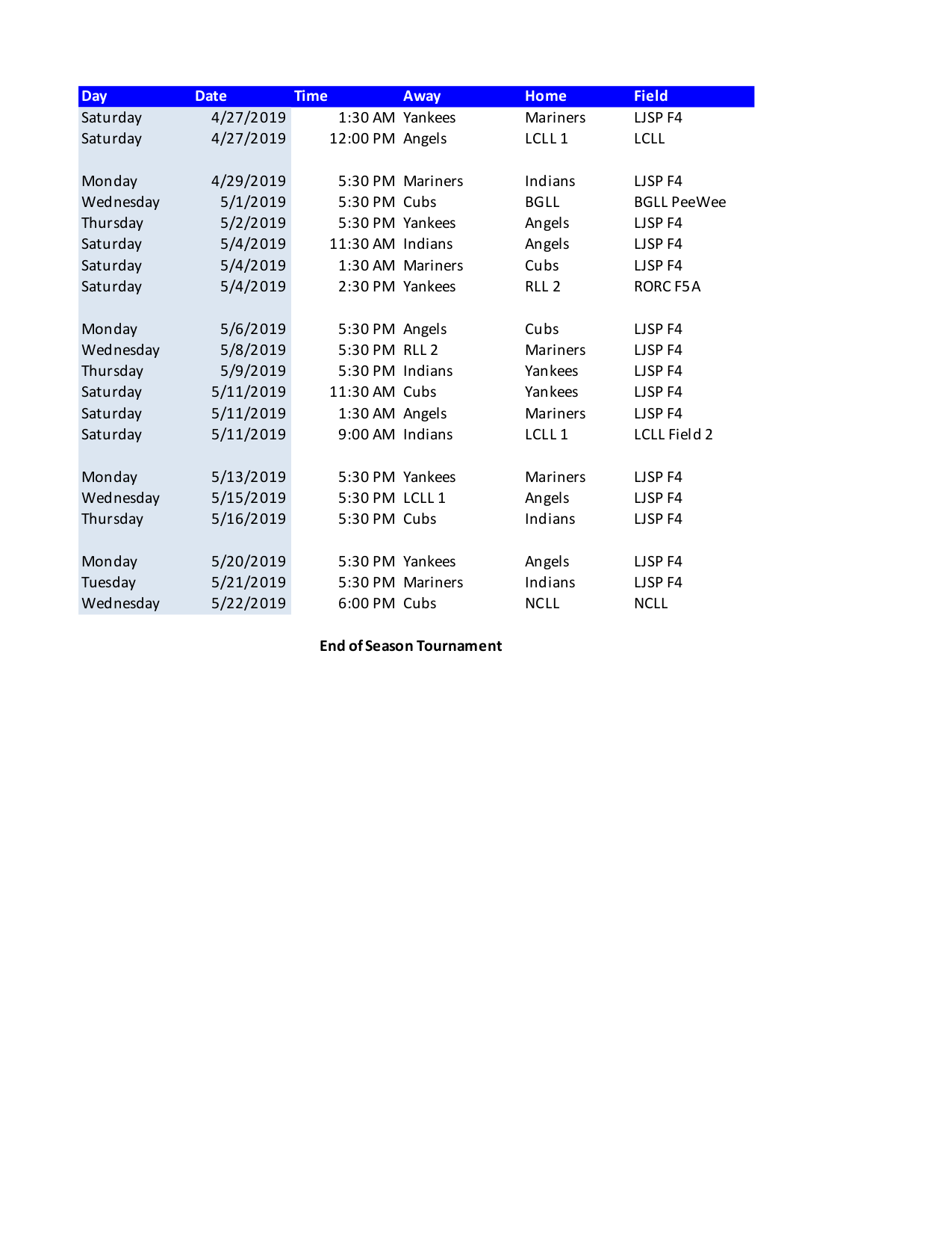 photo relating to Printable Cubs Schedule referred to as Salmon Creek Minor League Dwelling Schedules Calendar 2018